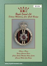 Royale Heavy Chromed Brass Car Badge ROYAL CORPS OF TRANSPORT RCT - B5.004