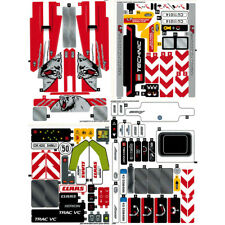 Lego Technic Sticker Sheets x4 Decals Transfers - 42024 42029 42043 42054 - NEW
