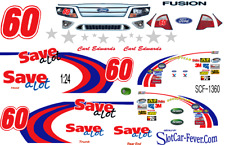 CD_1360 #60 Carl Edwards Nationwide Save A-Lot Ford 1:64 Scale Decals