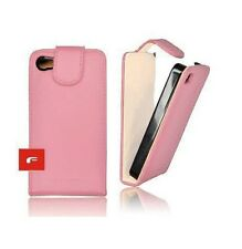 HOUSSE ETUI CUIR PU PROTECTION -- IPHONE 4 4S -- ROSE