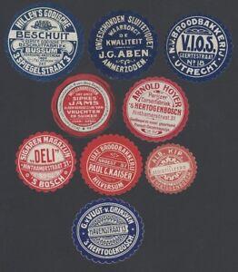 Netherlands vintage Food advertisement labels (9)