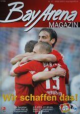 Programm 2002/03 Bayer 04 Leverkusen - Arm. Bielefeld