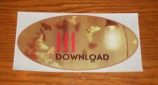 Download III Oval Sticker Decal Original Promo 5.5x3