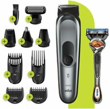 Braun All IN One Trimmer 7 MGK7221 Barber Hair Clippers 10 1 With 13 Positions