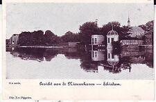 Netherlands Schiedam - Nieuweaven old real photo postcard