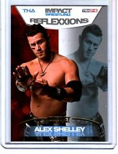 TNA Alex Shelley #24 2012 Reflexxions GOLD Parallel Card SN 4 of 10