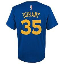 Kevin Durant Golden State Warriors Blue Game Time Player Net Tee Youth Large