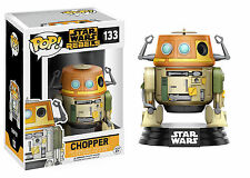 "STAR WARS REBELS CHOPPER 3.75"" POP VINYL FIGURE FUNKO 133 BRAND NEW UK SELLER"