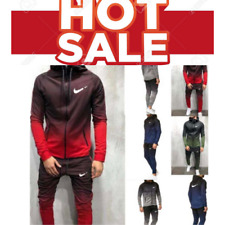 🛑🛑2020 New Men Set Tracksuit &Pants New Zipper Sweatshirts + Joggers Autumn