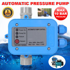 Automatic Water Pump Pressure Controller Auto Control Electronic Switch 10 Bar