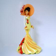 Tender Moment Roses in Bloom Lady Figurine Bradford Exchange
