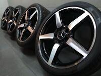 19 Zoll Sommerräder original Mercedes CLS AMG W218 X218 SL-Klasse R231 (C237)