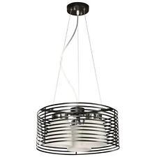 NEW 3 Light Chandelier Ceiling Rustic Metal Edison Cage Vintage Pendant Lamp