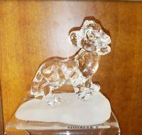 New Disney Parks Arribas Bros SIMBA Blown Glass Figure Figurine The Lion King