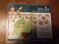 Wallies Wallpaper Cutouts 25 Happy Fruits #12206  NEW