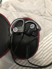 POWER BEATS 3 WIRELESS BY DR DRE IN-EAR HEADPHONES BLACK A1747 12-HR BATTERY