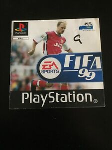 FIFA 99 (Sony PlayStation 1, 1998) Instructions Only