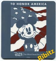 Disney D23 To Honor America Mickey Mouse mouse-pad from Reagan Library