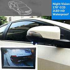 Waterproof 170° CCD Car Blind Spot Side View Camera HD Night Vision Front Camera