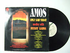 "Amos–Only Saw Today Medley With Instant Karma - Disco Mix 12"" Vinile ITALIA 1994"
