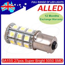 12V 27 SMD LED 1156 BA15S Bulb Single Connector RV/Car/Tail Light Reverse Lamp