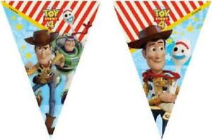 DISNEY TOY STORY 4 BUNTING - BIRTHDAY PARTY BANNER decoration FLAGS boy girl