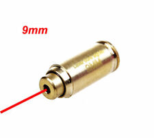 Tactical 9MM Caliber Cartridge Red Dot Laser Bore Sighter Boresight For Pistol