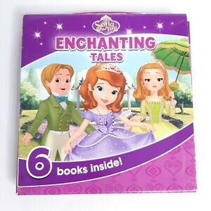 Sofia the First Enchanting Tales Box Set of 6 Picture Books Princess Royal