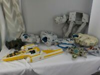 Lot of Large Star Wars Star Fighters Space Ships Millennium Falcons ETC