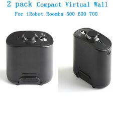 2xCompact Virtual-Wall Barrier Sensor For iRobot Roomba 5 6 7 series 655 760 770