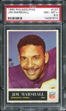 1965 Philadelphia #107 Jim Marshall PSA 8.5 Minnesota Vikings