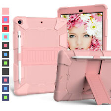For iPad 8th 7th Generation 10.2'' Shockproof Heavy Duty Rugged Stand Case Cover
