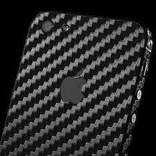 iphone 5s & iphone SE black carbon sticker skin