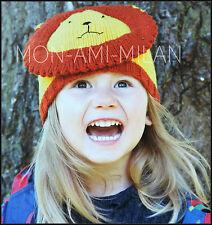 Knitting Pattern • Lion Hat • Childrens • Girls • Boys • 2-6 Yrs • DK Easy Quick