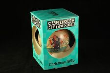Vtg Schmid Cartoon Network 1995 Dick Dastardly Wilma Touche Xmas Ornament w/ Box