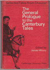 Chaucer General Prologue to Canterbury Tales 1965