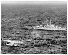 Photo 1945 Seaplane USS San Pablo on Rescue - Hawaii