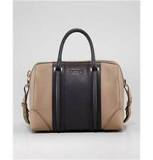 Givenchy LUCREZIA Two Tone Colorblock Leather Satchel Duffel Tote Bag $2810