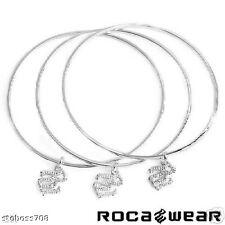 ROCA WEAR  Bracelet in 14K StSl White Gold Plated SS