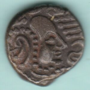 ANCIENT INDIA 3/4 CENTURY INDO SASSANIAN EMPIRE SILVER DRACHM RARE COIN