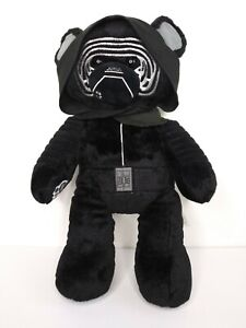 Build a Bear Workshop Star Wars Force Awakens Kylo Ren Plush Stuffed Animal 17""