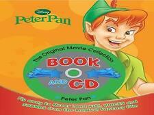 "Disney Book and CD: ""Peter Pan"" (Disney Book & CD),    Hardcover Book   Good   9"
