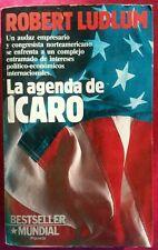 Robert Ludlum LA agenda de Icaro 1988 Paperback