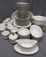 Bone China 95 pc set, 22K Gold, H&C Manchester, Made in Bavaria, Pattern Sango