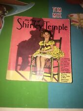 STORY OF SHIRLEY TEMPLE SOFT COVER 1st VARIATION Big Little Book 1319
