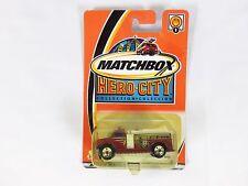 Matchbox Die-Cast Vehicle Hero City Collection Highway Fire Pumper # 1