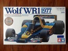 TAMIYA 1/12  1977 WOLF WR1 FORMULA 1 CAR MODEL KIT # 12044  NEW  FACTORY SEALED