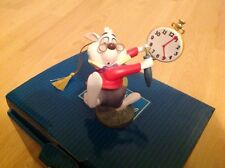 WDCC WHITE RABBIT NO TIME TO SAY HELLO-GOODBYE ALICE IN WONDERLAND