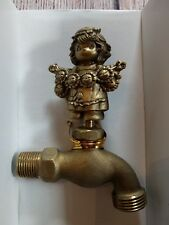 Vintage Nib Precious Moments Faucet Garden Spigot Girl with Daisies #218588 1996