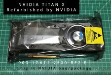 NVIDIA Officially refurbished GeForce TITAN X Pascal 900-1G611-2500 GDDR5X GPU